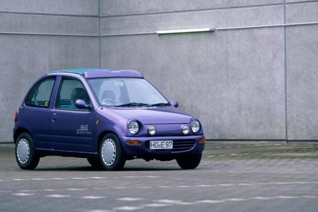 ¿Mazda MX-30? No, el primer eléctrico de la firma nació en los 90