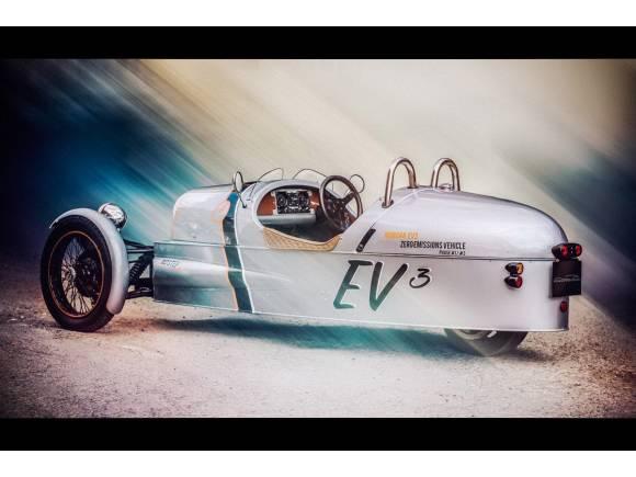Morgan presenta en Goodwood un modelo eléctrico y vintage