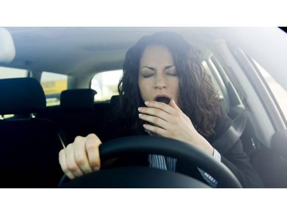 Cómo afecta el sueño y el cansancio a la conducción.