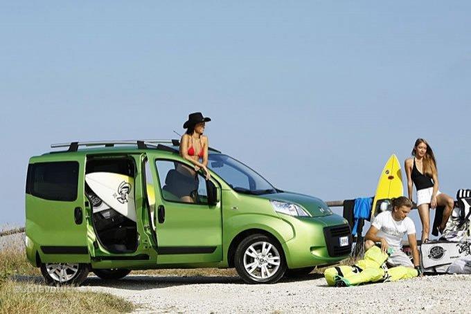 El Fiat Qubo resulta un coche muy polivalente