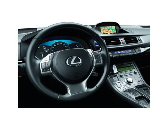Lexus CT 200h: novedades para 2013