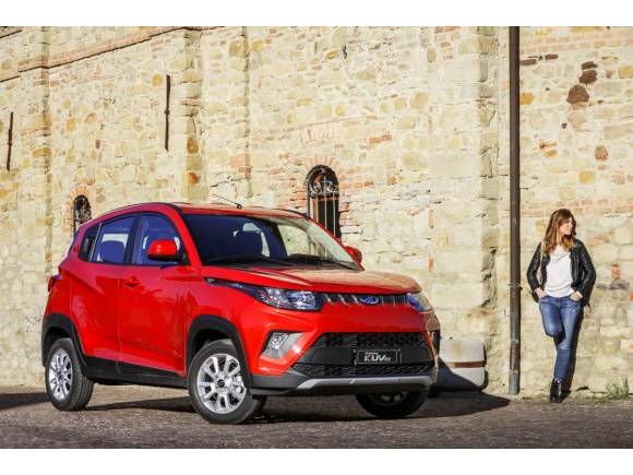 Mahindra KUV100, nuevo SUV compacto para la marca india