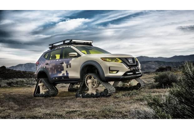 Nissan Rogue Trail Warrior Project: orugas en vez de ruedas