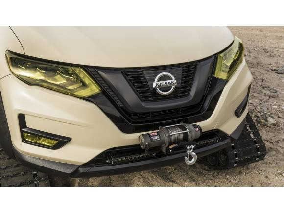 Nissan Rogue Trail Warrior Project: orugas en vez de ruedas