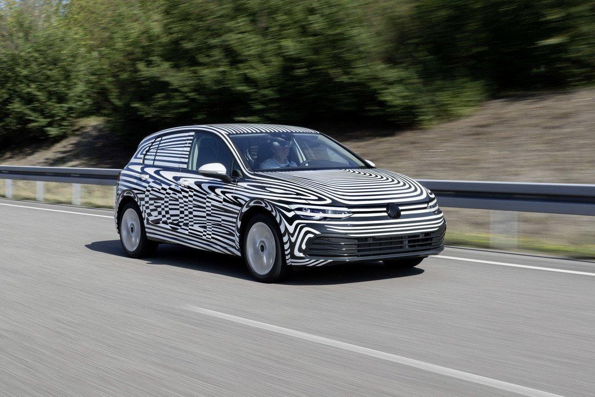 El Volkswagen Golf ya está en fase final de pruebas
