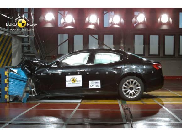 El Maserati Ghibli consigue la mejor puntuación de los últimos test EuroNcap