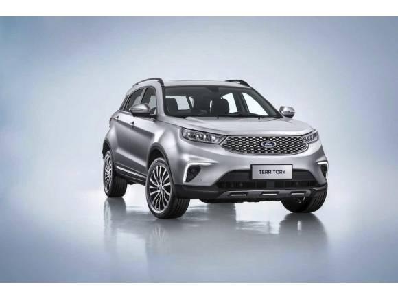 Nuevo SUV híbrido Ford Territory, sólo para China