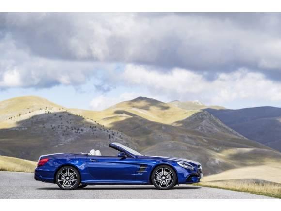 El Mercedes SL se renueva en 2016