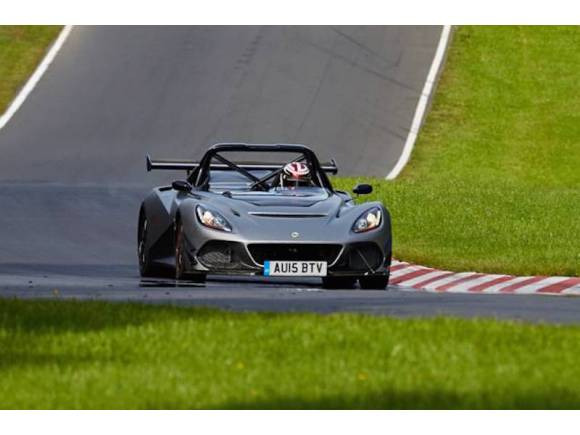 Lotus 3-Eleven, legal en la calle, rey en el circuito