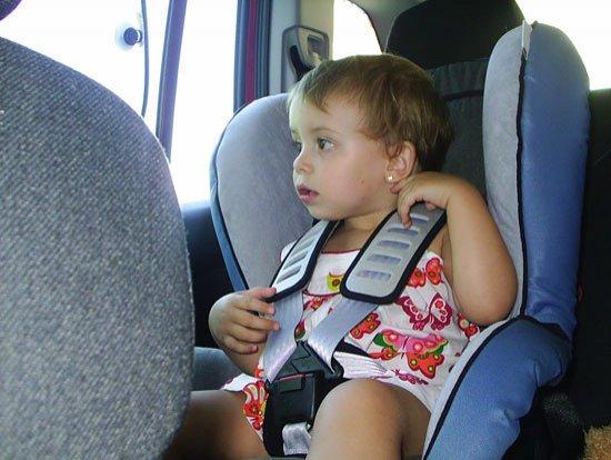 Niños en el coche