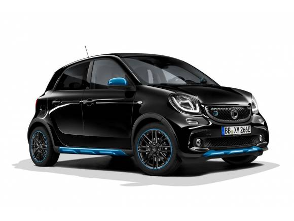 Los smart serán los primeros integrantes de la familia EQ de Mercedes