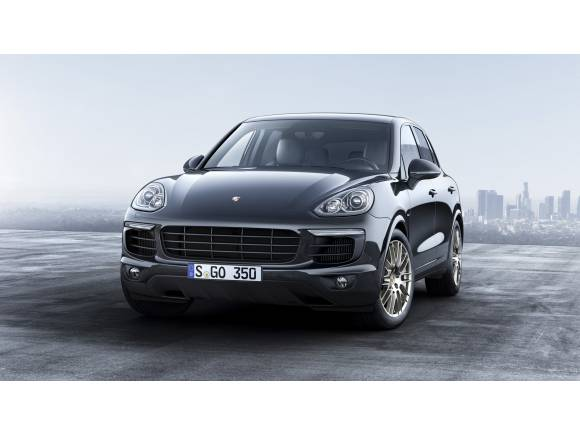Porsche Cayenne Platinum Edition: edición especial para el Cayenne Diesel y el híbrido