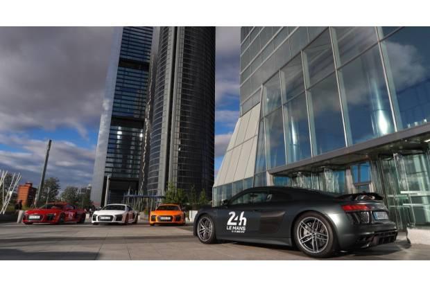 Prueba: de Madrid a Le Mans en un Audi R8 V10 plus