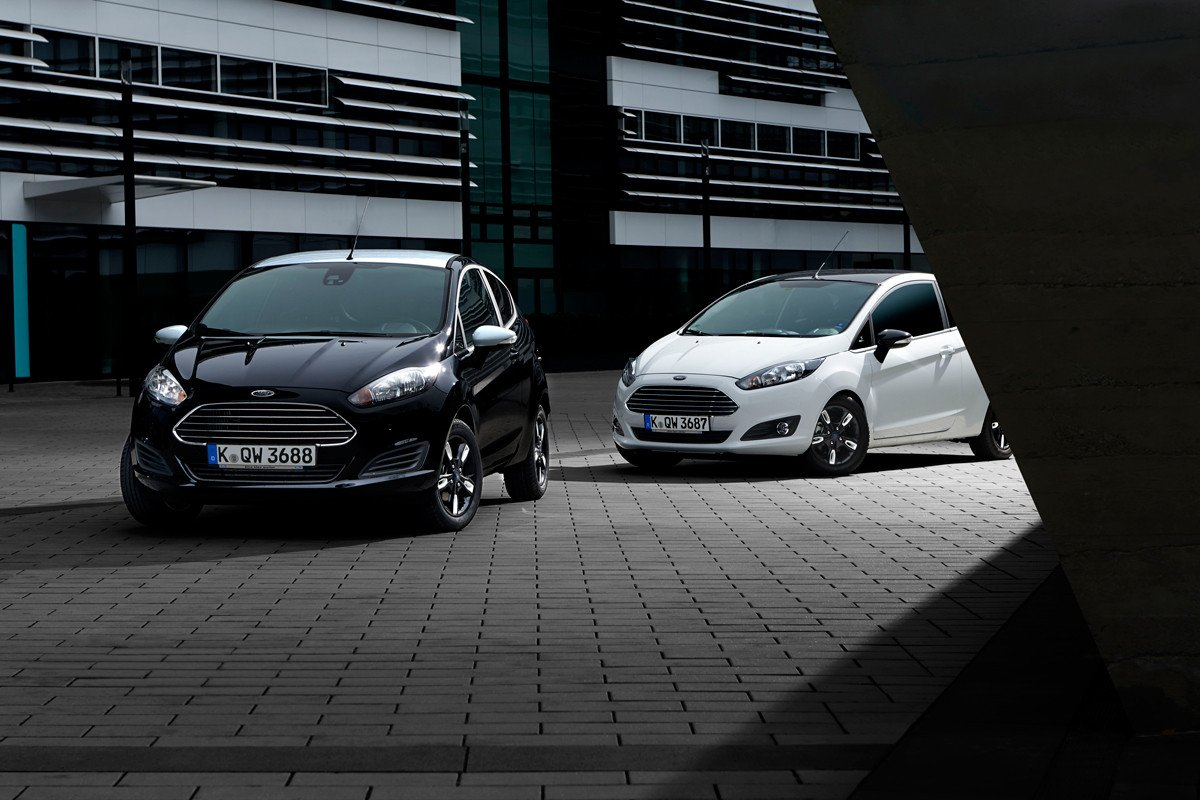 Ford Fiesta Black & White