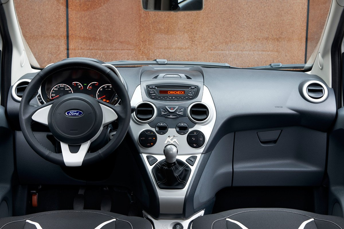 Ford Ka Black & White