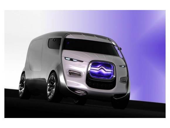 """Citroën Tubik, una """"furgoneta"""" híbrida de lujo con 9 plazas"""