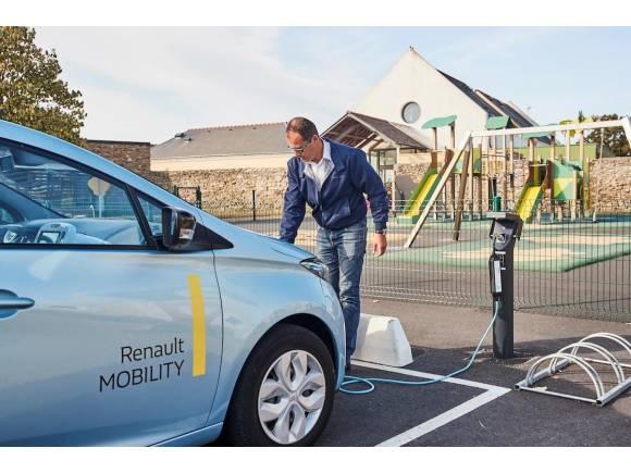 Renault lidera la venta de coche eléctricos en España