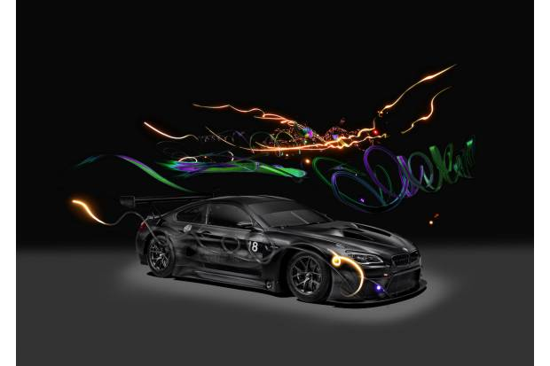 BMW Art Car nº18: un M6 GT3 virtual
