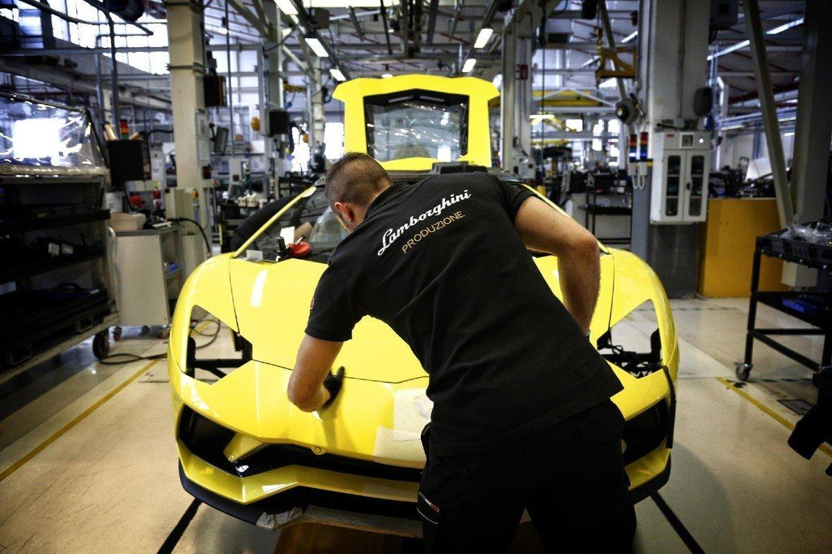 Lamborghini planta