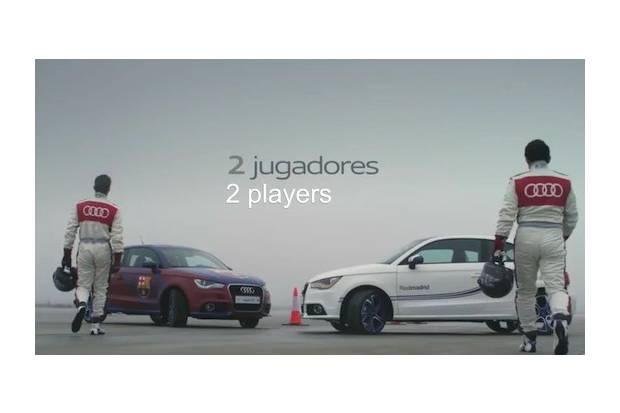 Vídeo: Real Madrid vs Barcelona, Audi también disputa el clásico
