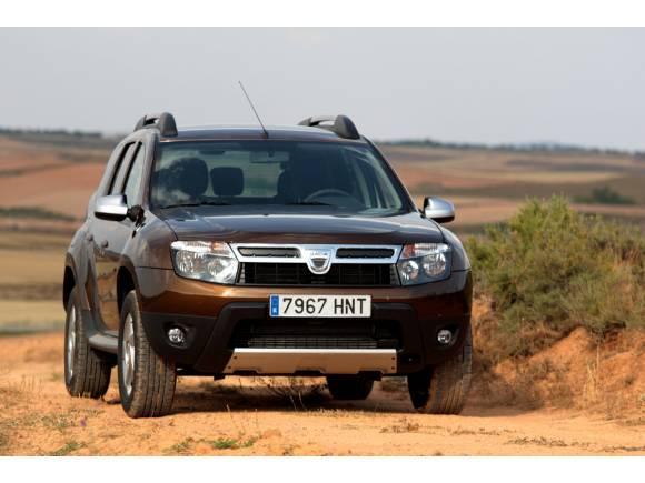 El Dacia Duster coche oficial del Eco Desafío Burn 2013