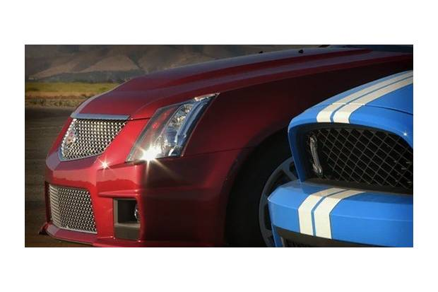 Vídeo: Cadillac CTS-V Coupé vs Shelby GT500