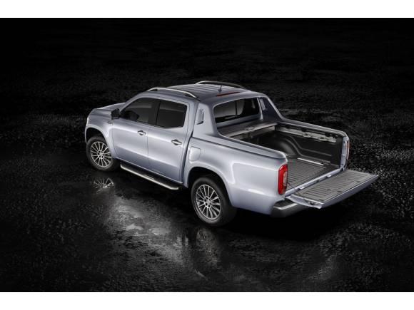 Mercedes Clase X 350 d con motor V6 de 258 CV