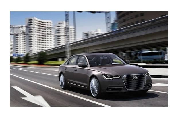 Audi A6 L e-tron, prototipo de coche híbrido enchufable premium