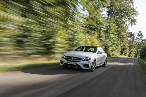 A la venta el Mercedes E 300 de: el primer híbrido enchufable diésel