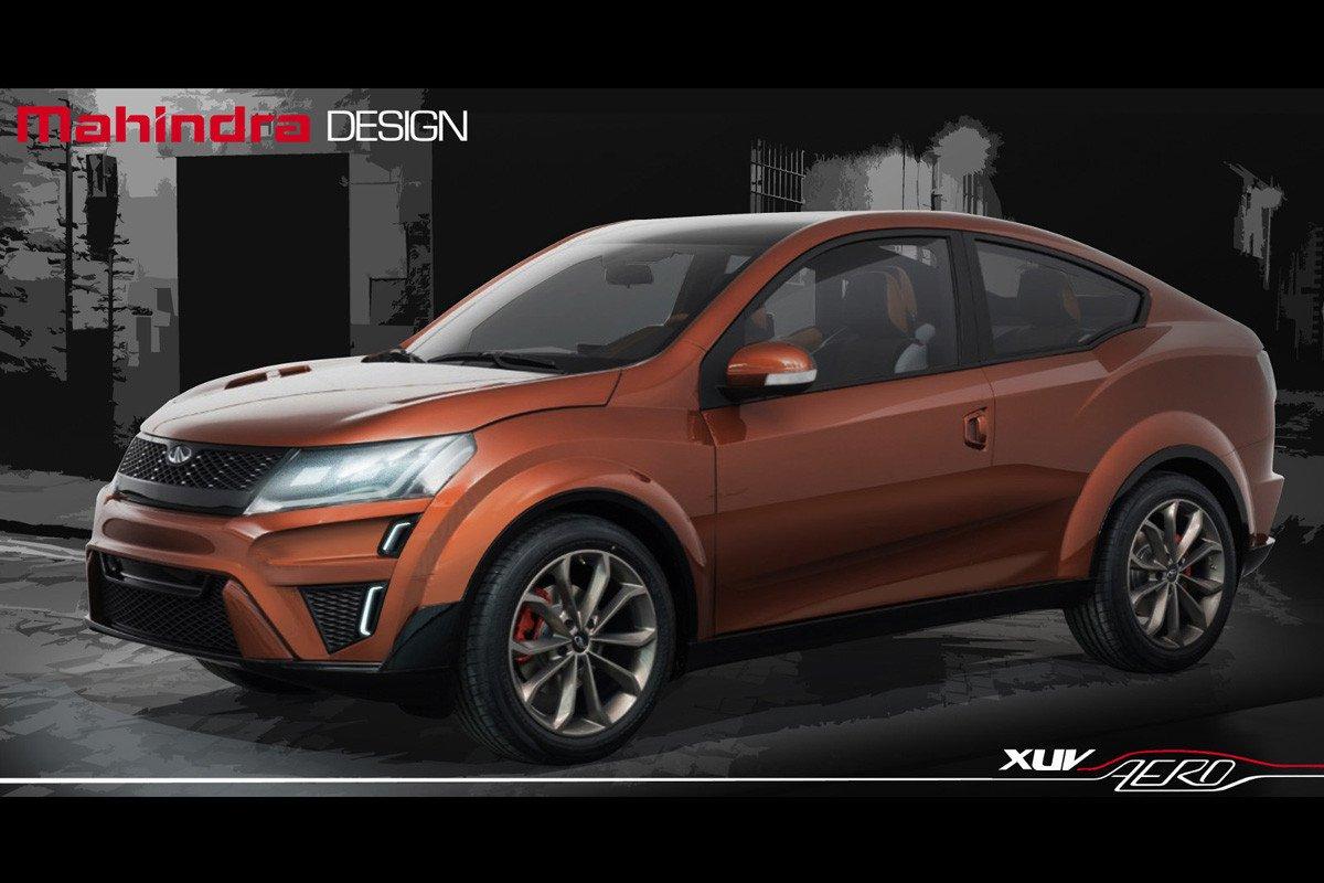 Mahindra HUV Aero SUV Concept