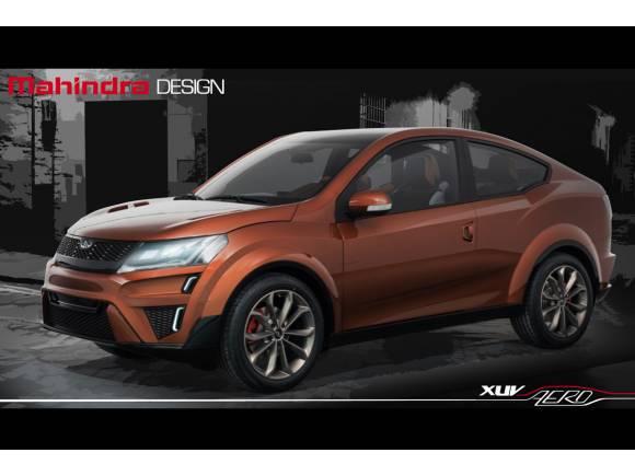 Así es el Mahindra HUV Aero SUV Concept