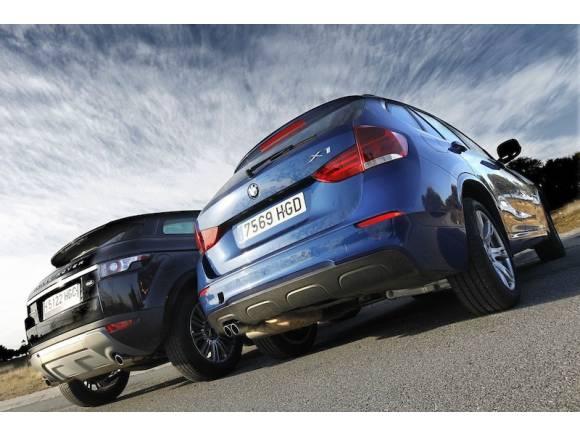 Range Rover Evoque vs BMW X1