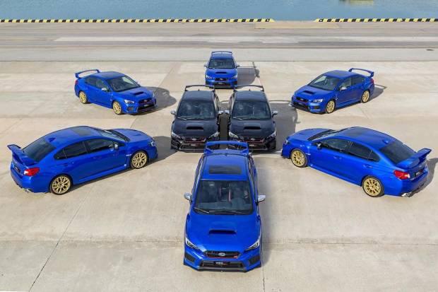 Los últimos 8 Subaru WRX STI ya están en España