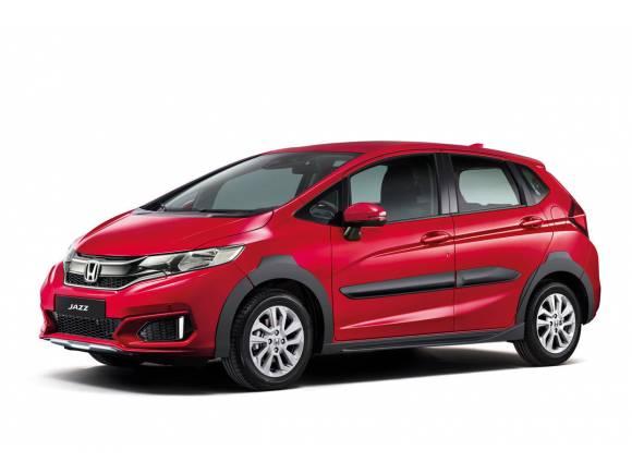 Honda Jazz X-road, con estética crossover