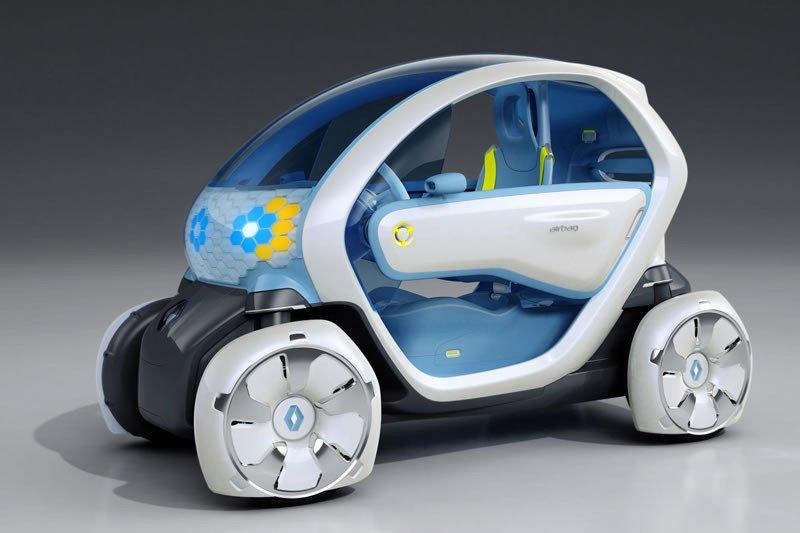 El Twizy será parece un coche de juguete