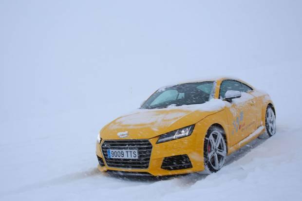 Así serán los cursos Audi Winter driving experience en 2017