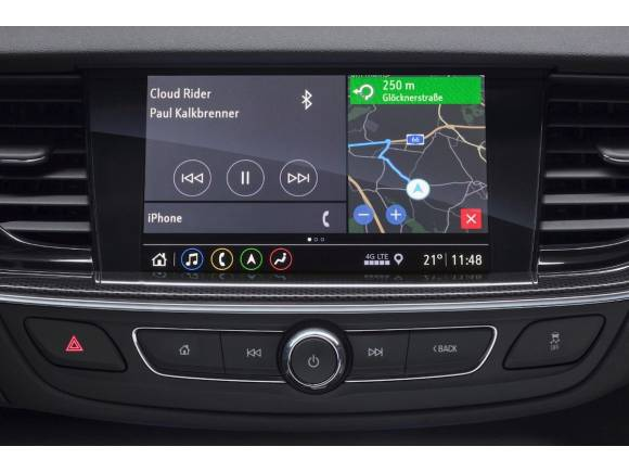 El Opel Insignia estrenará nuevos sistemas Multimedia