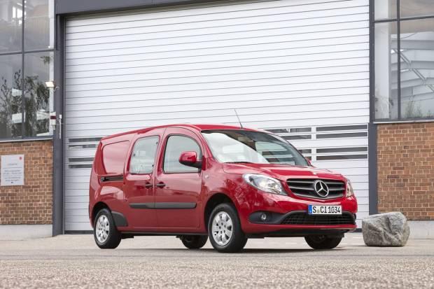 El Mercedes Citan se baja el precio un 10 %