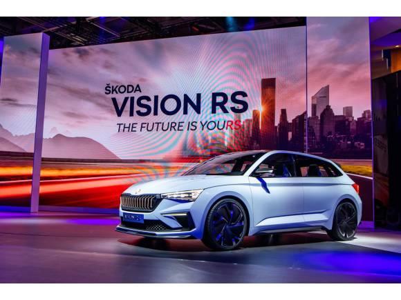 Skoda Vision RS: anticipo del futuro Skoda Scala