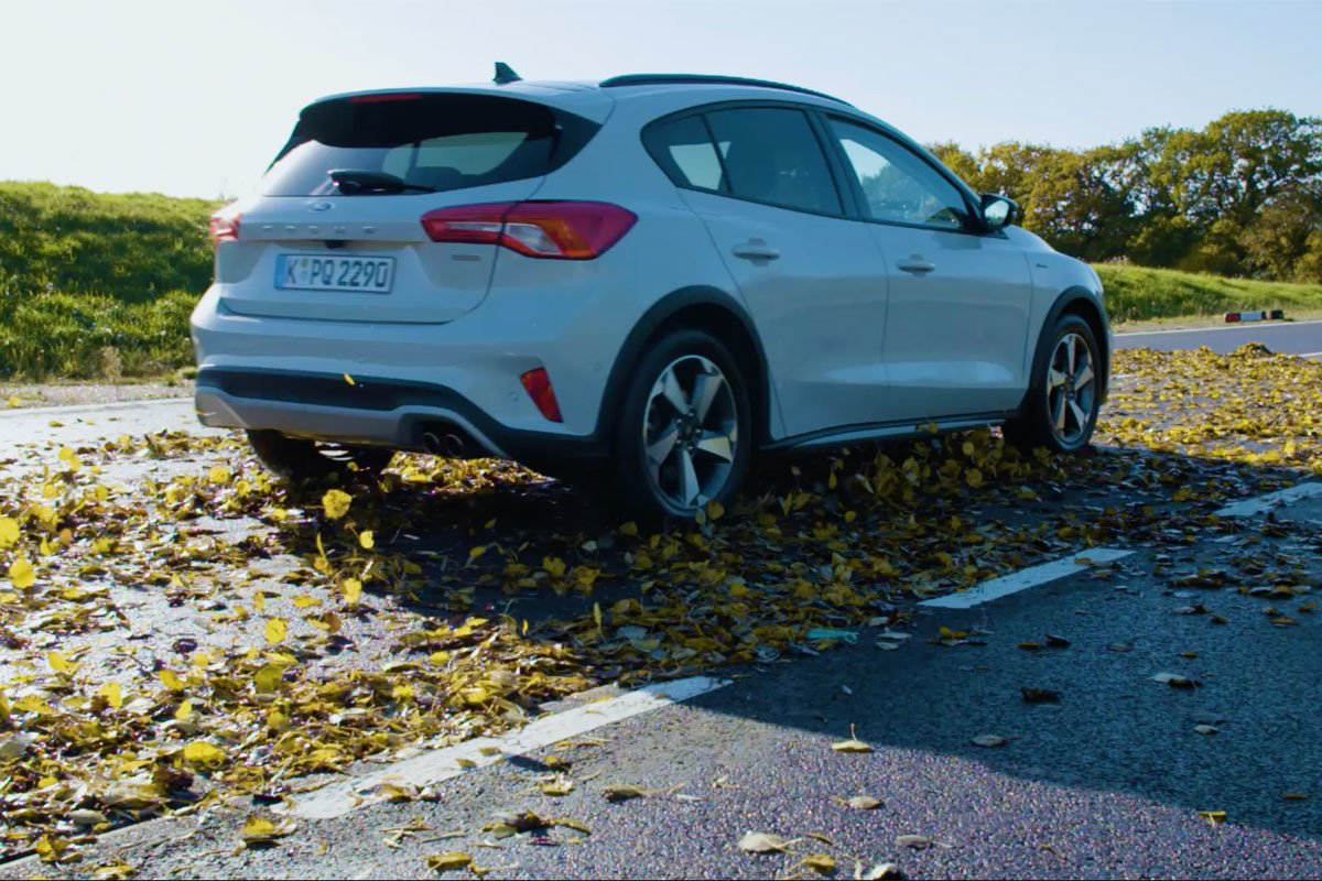 resbala hojas nieve ford