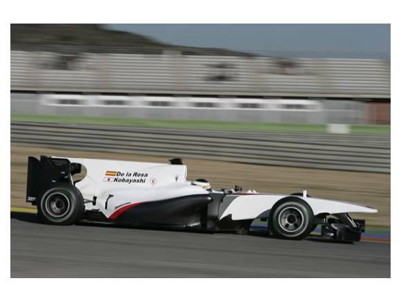 F1: El coche de Pedro de la Rosa: Los primeros 1001km del Sauber-Ferrari C29