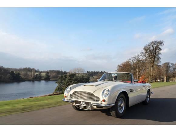 Aston Martin diseña su primer clásico con motor eléctrico