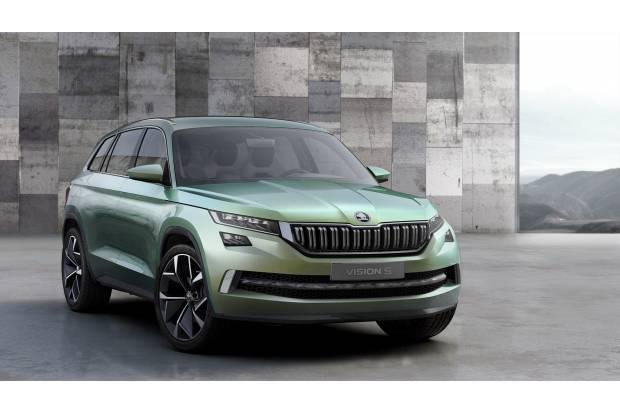 Skoda VisionS, el ancitipo del futuro SUV de siete plazas de Skoda