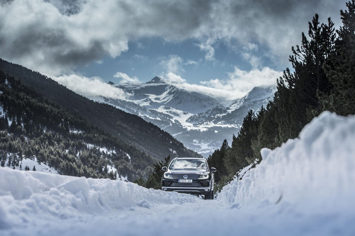 Curso conducción nieve
