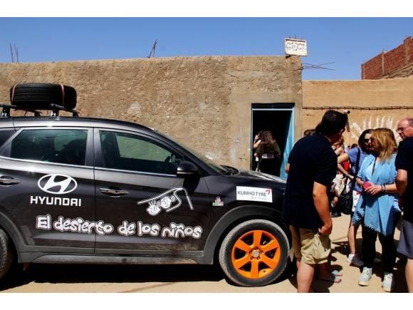 Desierto de los Niños 2018: Hyundai más solidario