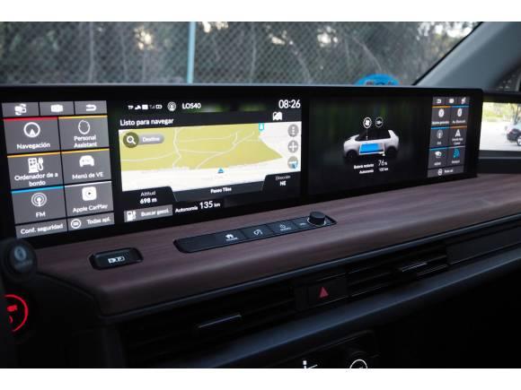 Prueba Honda e 2ª parte: análisis de todas sus pantallas