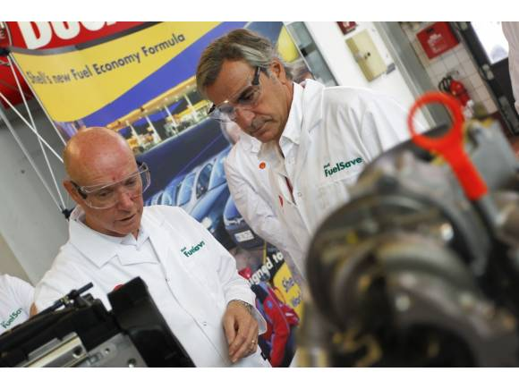 Shell FuelSave Probado por Carlos Sainz