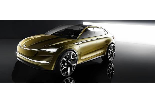 Vision E, el primer paso hacia el coche eléctrico de Skoda