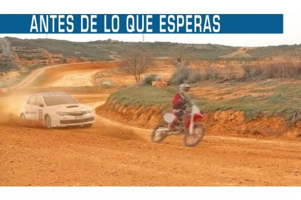 Vídeo: Subaru Impreza WRX STi vs Marc Márquez