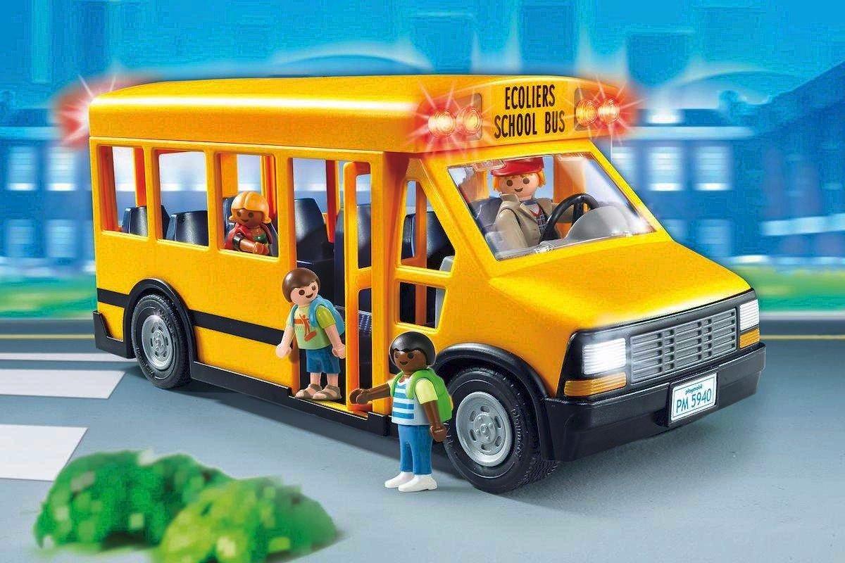 como debe ser un autobus escolar